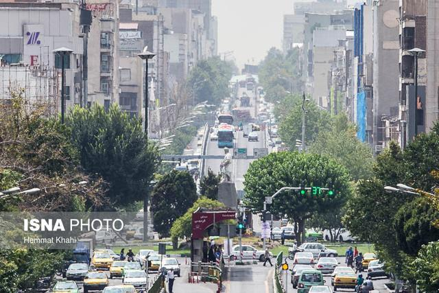 تهران گرم تر می گردد