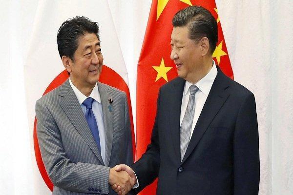 نخست وزیر ژاپن به دیدار رئیس جمهوری چین می رود