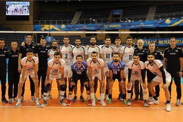 برنامه تیم ملی والیبال تا پیش از دیدار با بلغارستان