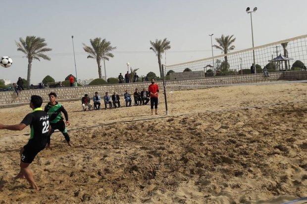 مسابقات فوتوالی استان بوشهر برگزار گردید