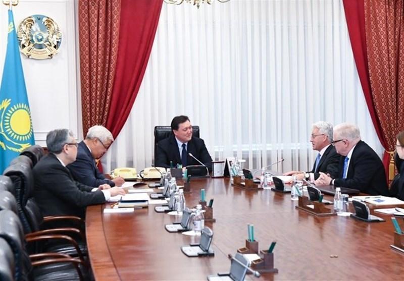 سفر هیئت دیپلماتیک انگلیس به قزاقستان