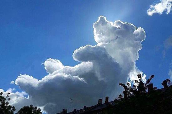 وقتی آسمان به سِحر و جادو روی می آورد!