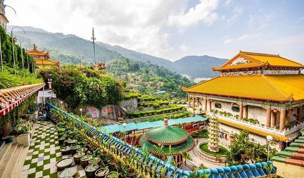 جاهای دیدنی پنانگ در مالزی