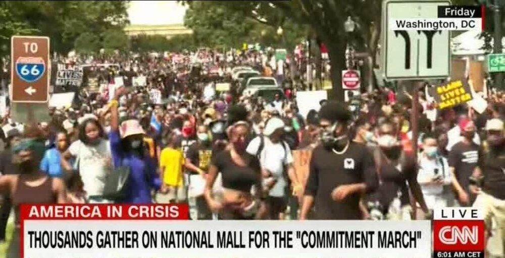 معترضان خسته آمریکایی همچنان در خیابان ها، درخواست اوباما از مردم