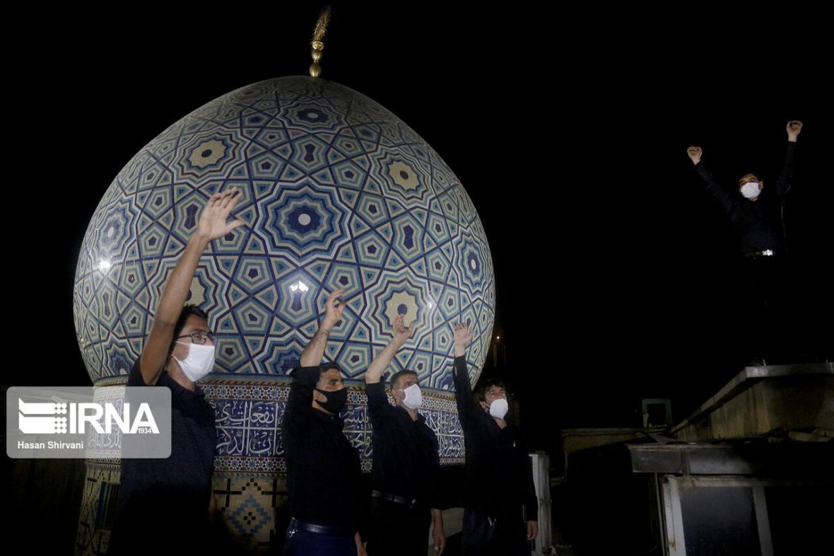 خبرنگاران فریاد لبیک یا حسین(ع) در یزد طنین انداز شد